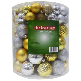 Paquete de 100 esferas navideñas - Envío Gratuito