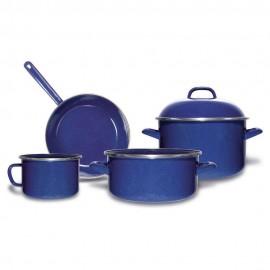 Batería Vasconia Duracero 5 pzs Azul
