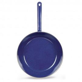 Sartén de Acero Vitrificado Vasconia 24 cm Azul - Envío Gratuito