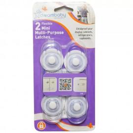 Seguro Mini Flexible de Usos Múltiples Dreambaby 2 Piezas - Envío Gratuito