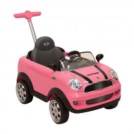 Montable Prinsel Push Mini Cooper Rosa - Envío Gratuito