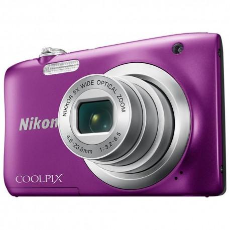 Nikon Cámara Coolpix A100 Púrpura - Envío Gratuito