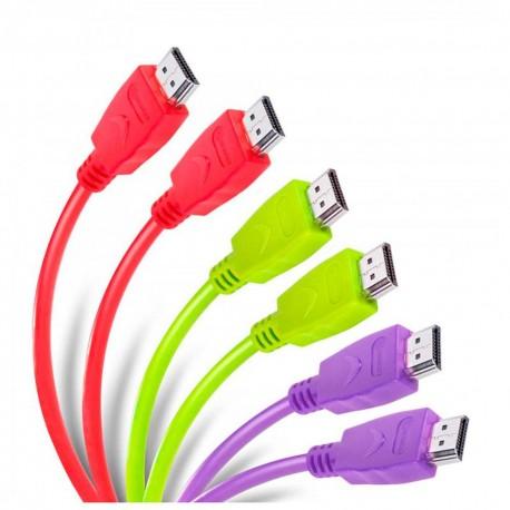 Cable plano HDMI Steren 299 HDFL RN - Envío Gratuito