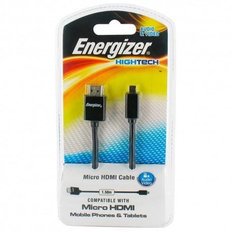 Energizer Cable Micro HDMI Negro - Envío Gratuito
