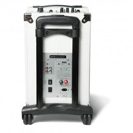 Pure Acoustics Bafle Portátil MCP 100 Blanco - Envío Gratuito