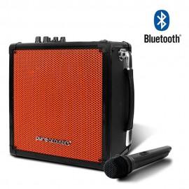 Pure Acoustics Bafle Portátil MCP 50 Negro con naranja