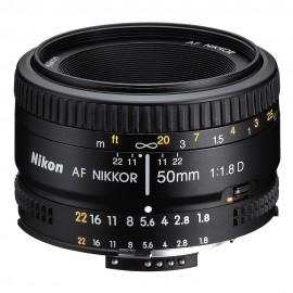 Nikon Lente AF Nikkor 50mm f/1.8D