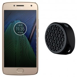 Motorola G5 Plus 32 GB + Bocina Inalámbrica Logitech X50 Bluetooth