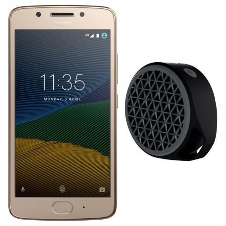 Motorola G5 32 GB + Bocina Inalámbrica Logitech X50 Bluetooth - Envío Gratuito