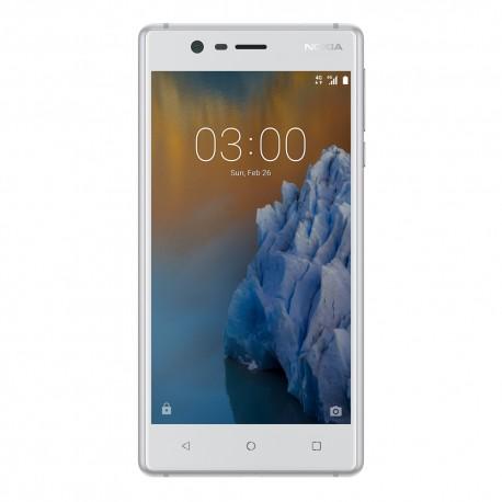 Nokia 3 16 GB Blanco Plata - Envío Gratuito
