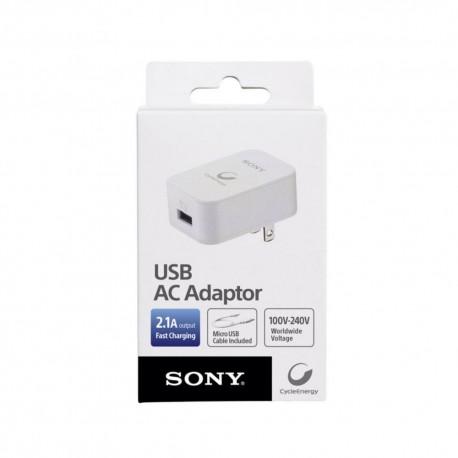 Sony Adaptador AC a USB 2.1A CP-AD2 - Envío Gratuito