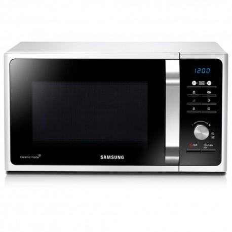 Samsung Horno de Microondas 1.1 Pies MS32F303TAWAX - Blanco - Envío Gratuito