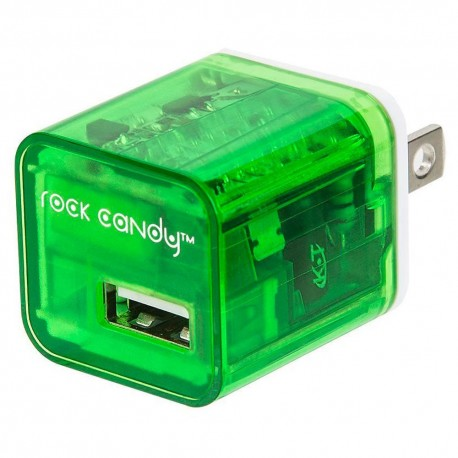 Rock Candy Wall Charger Verde - Envío Gratuito