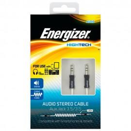 Energizer Cable Audio Estéreo Energizer Blanco - Envío Gratuito