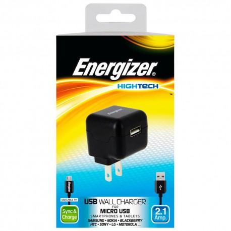 Energizer Cargador de Pared Hightech Negro - Envío Gratuito
