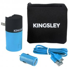 Kit de Cargadores Kingsley Azules