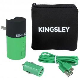 Kit de Cargadores Kingsley Verdes