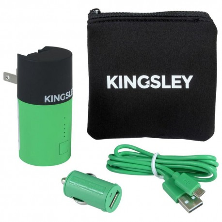 Kit de Cargadores Kingsley Verdes - Envío Gratuito