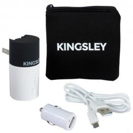 Kit de Cargadores Kingsley Blancos