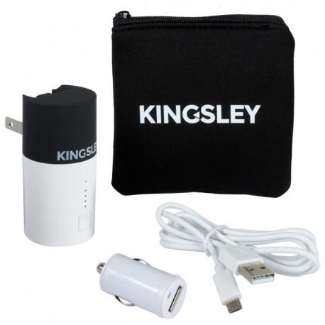Kit de Cargadores Kingsley Blancos - Envío Gratuito