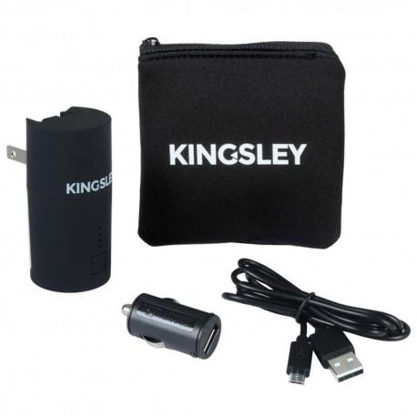Kit de Cargadores Kingsley Negros - Envío Gratuito