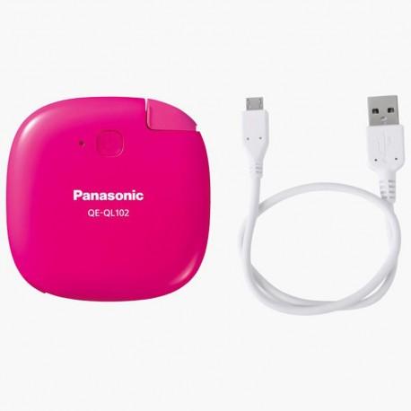 Panasonic Cargador Portátil 1 430 mAh Rosa - Envío Gratuito