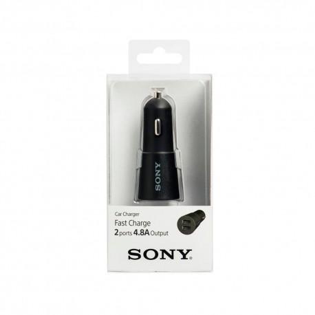 Sony Adaptador de Carro 2 Puertos 4.8 - Envío Gratuito