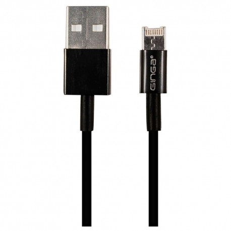 Cable Dual iPhone Android Negro - Envío Gratuito