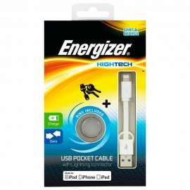 Energizer Cable Lightning Blanco