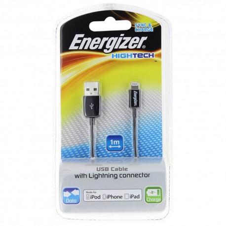 Energizer Cable Hightech Negro - Envío Gratuito