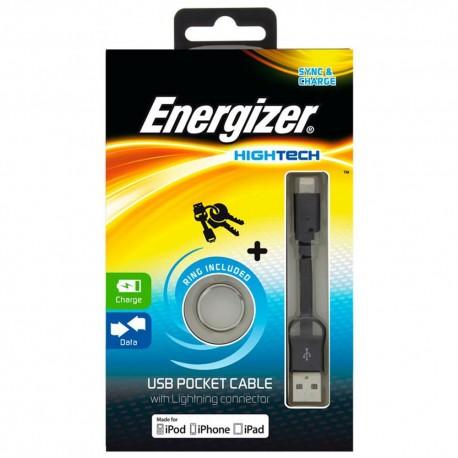 Energizer Cable Lightning Negro - Envío Gratuito