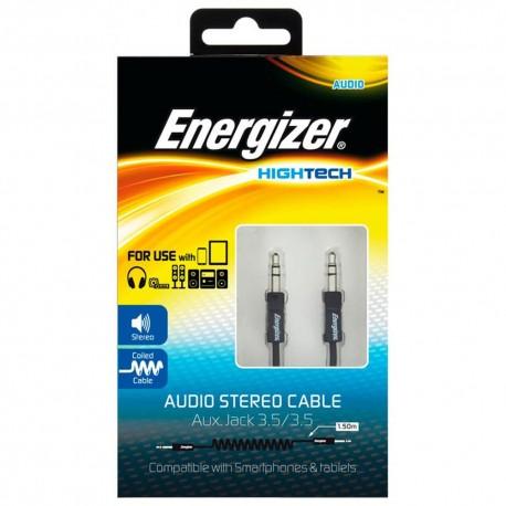 Energizer Cable Audio Estéreo Energizer Negro - Envío Gratuito