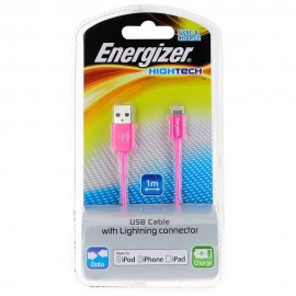 Energizer Cable Lightning Hightech Rosa