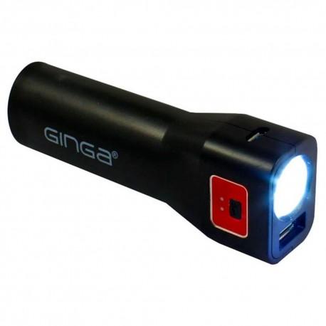 Ginga Power Bank Portátil GI16PBK01 NR - Envío Gratuito