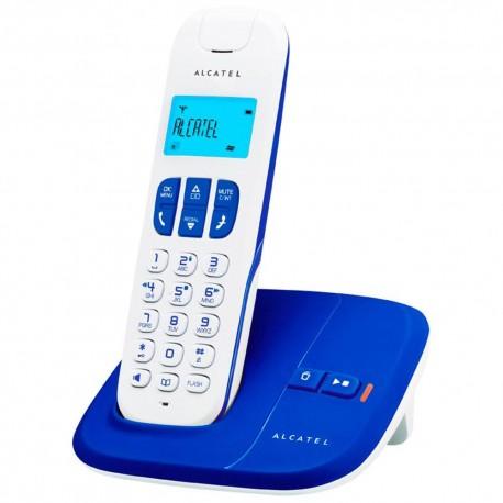 Teléfono Inalámbrico Alcatel Delta 180 Azul - Envío Gratuito