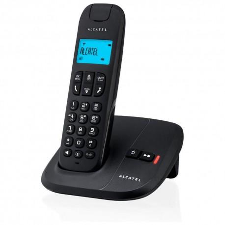 Teléfono Inalámbrico Alcatel Delta 180 Negro - Envío Gratuito