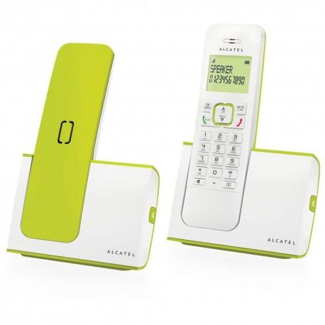 Alcatel Teléfono Inalámbrico ATLP1412215 Blanco Verde - Envío Gratuito