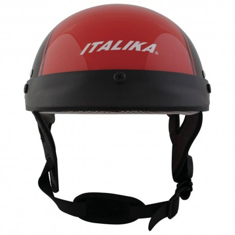 Italika Casco Cachucha Motociclista Anaranjado - Envío Gratuito