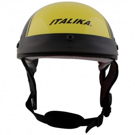 Italika Casco para Motociclista Amarillo - Envío Gratuito