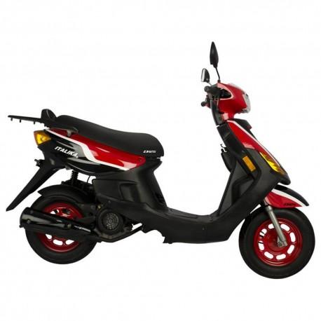 Italika Motoneta D125CC Negro Rojo - Envío Gratuito