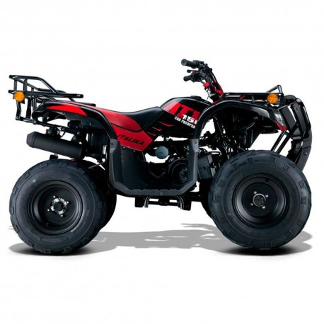 Italika Cuatrimoto ATV RT 150CC Roja Negra - Envío Gratuito