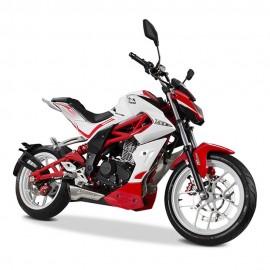 Motocicleta Italika Vort X 200 Rojo con Blanco