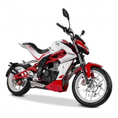 Motocicleta Italika Vort X 200 Rojo con Blanco - Envío Gratuito