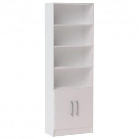Potenzzo Librero Decorativo Blanco - Envío Gratuito