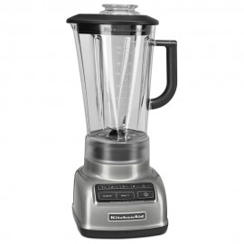 KitchenAid Licuadora 5V Diamante KSB1575CU Silver
