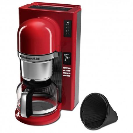 Kitchen Aid Cafetera 8 Tazas KCM0802ER Rojo - Envío Gratuito