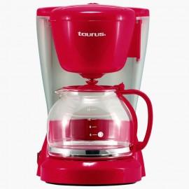 Taurus Cafetera 12 tazas Rojo