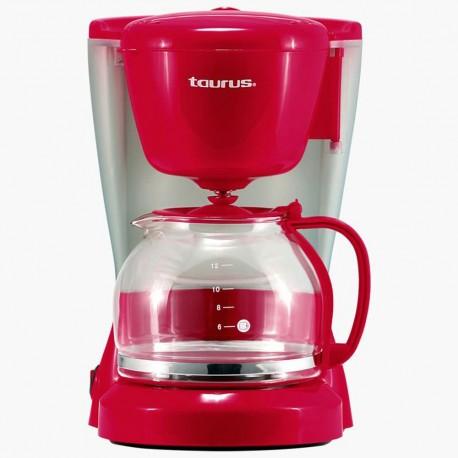 Taurus Cafetera 12 tazas Rojo - Envío Gratuito