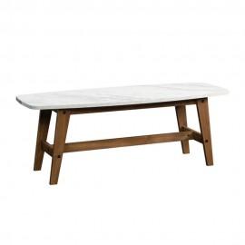 Mesa de Centro Sauder Soft Modern Blanco