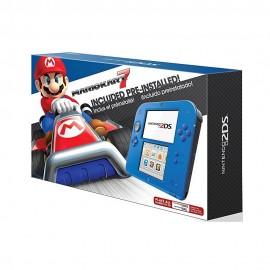 Consola Nintendo 2DS Azul  Videojuego Mario Kart 7 - Envío Gratuito